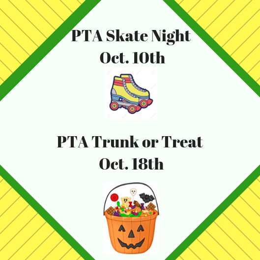 PTA October Events click for flyers