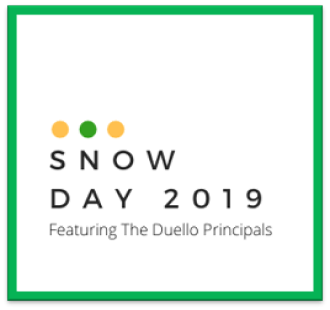 Ever wonder what Duello Principals do on a Snow Day?  Watch and Find Out!