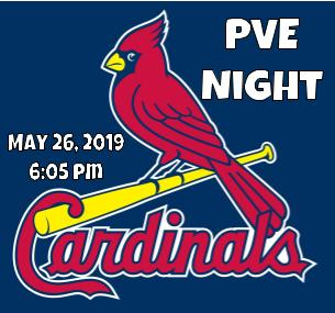 PVE Night at the Cardinals