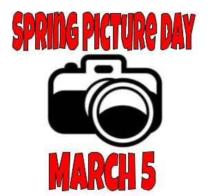 Spring Picture Day - March 5