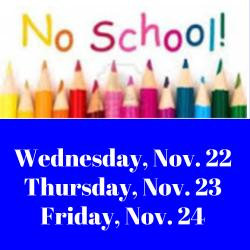 Image result for no school thursday and friday