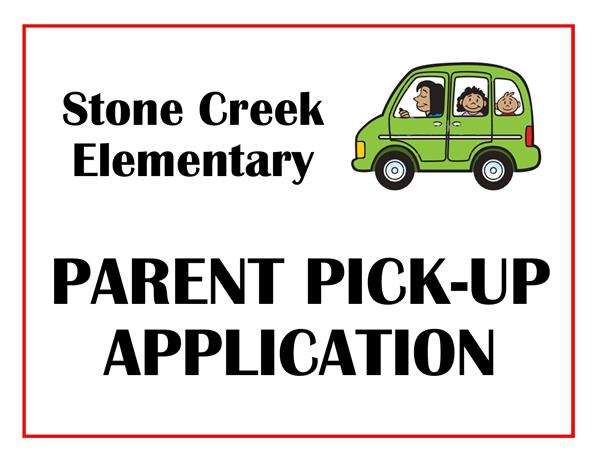 Parent Pick Up Tag Application