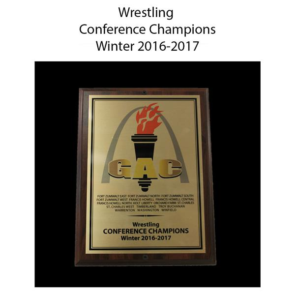 2016-2017 Wrestling Conference Champions Winter