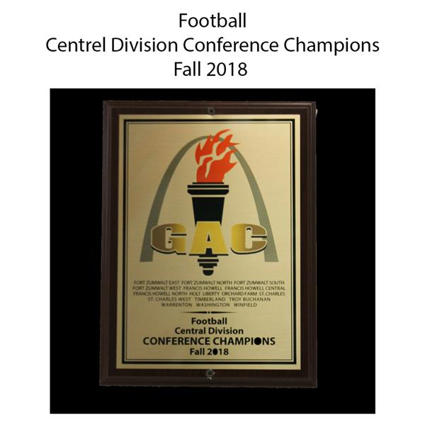 2018 Football Centrel division Champions fall