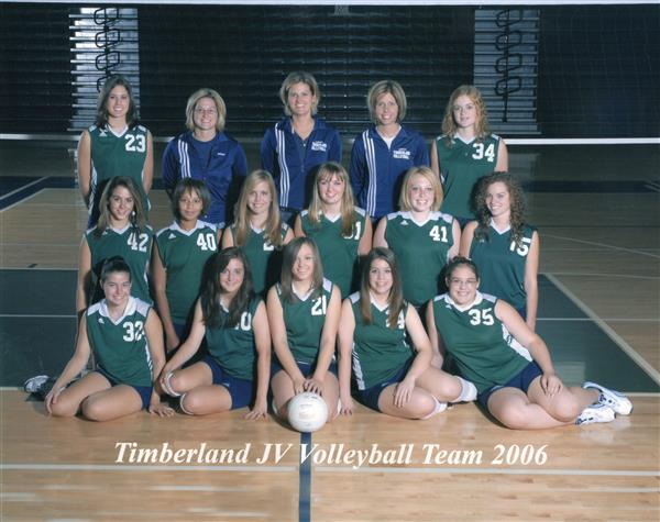JV Volleyball 2006