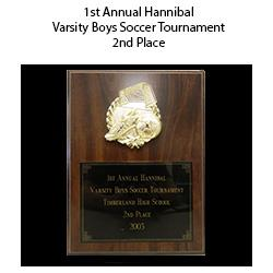 Hannibal Tournament 2nd Place