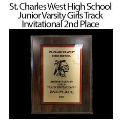 St. Charles West Invitational 2nd Place