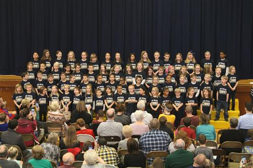 Cub Share Choir