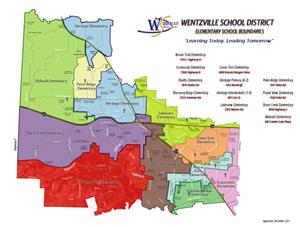 map of the WSD