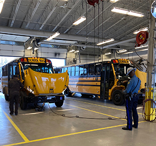 WSD Bus Fleet Qualifies for Excellence Award