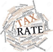 Tax Rate words