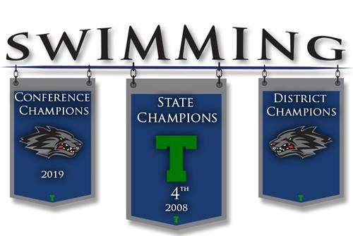 Girls Swimming Banner