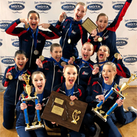 Liberty High School Dance Team Wins State Championship