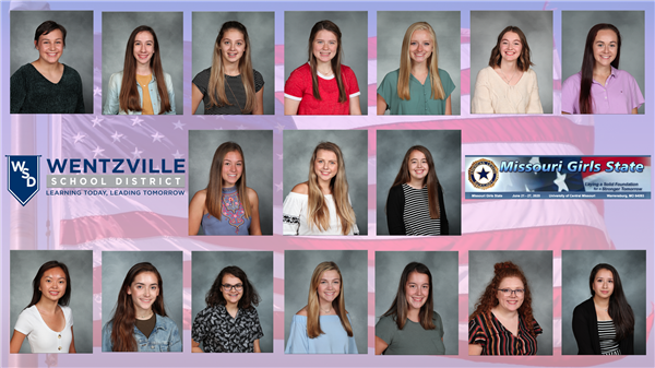 WSD Students Selected for Girls State