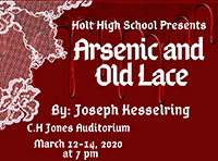 "HHS Theatre Department Presents ""Arsenic and Old Lace"""