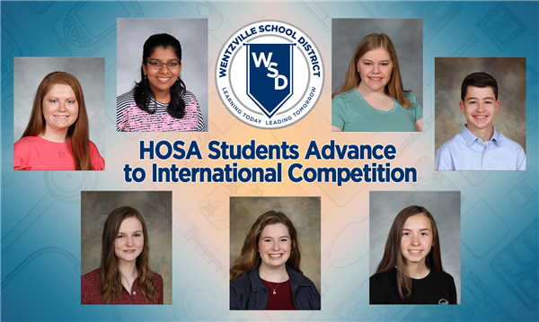 WSD HOSA Students Advance to International Competition