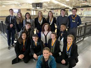 WSD Students Compete at FBLA District Competition and Advance to State