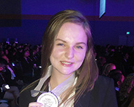 WSD Student Receives Second Place at HOSA International Competition