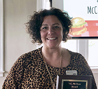 WSD Instructional Technology Coach Earns Virgil C. McCluer Award