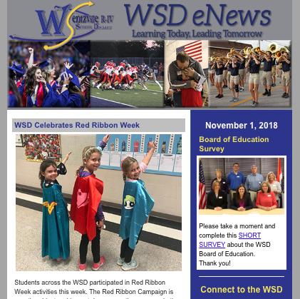 District eNews Link