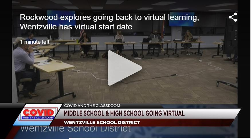 Wentzville School District has virtual start date for middle and high schoolers
